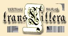 """VERTIMŲ BIURAS """"TransLittera""""- Vertimų biuras Translittera, Klaipėda http://www.translittera.lt"""